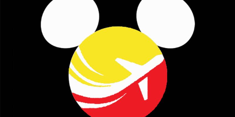 Logo pour agence de voyage spécialisée Disney fictive