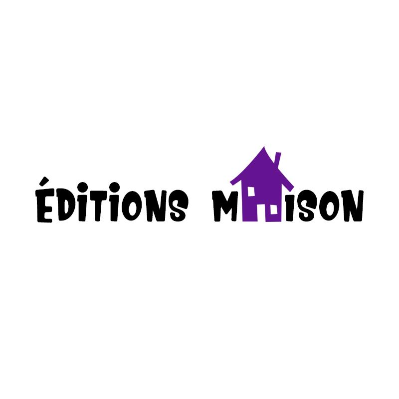 Logo pour les Éditions maison, une maison d'édition fictive