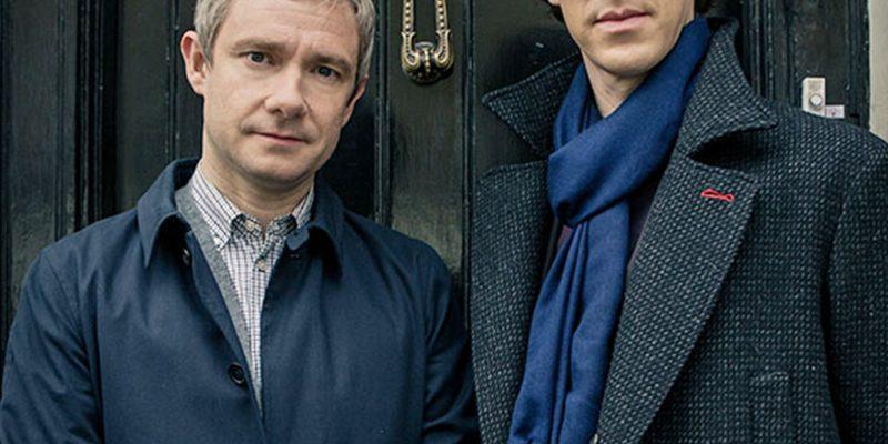 Image des deux protagonistes de la série télévisée Sherlock, Sherlock et Watson